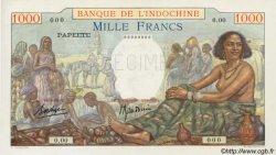 1000 Francs TAHITI  1938 P.15 vars pr.NEUF