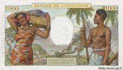 1000 Francs type 1938 TAHITI  1954 P.15c NEUF