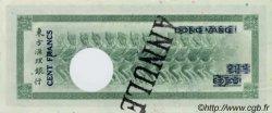 100 Francs impression américaine 1941 TAHITI  1943 P.17bs pr.NEUF