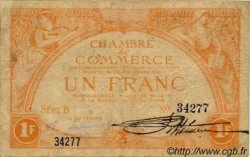 UN FRANC jaune TAHITI  1919 P.03 B+