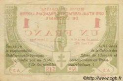 UN FRANC TAHITI  1942 P.08 TTB+