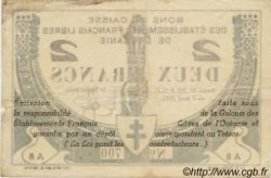 2 Francs OCÉANIE  1942 P.09 TB+
