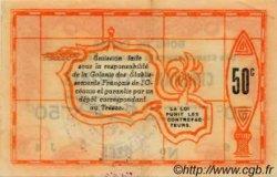 50 CENTIMES TAHITI  1943 P.10a SUP+