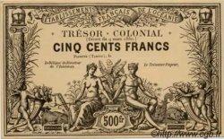 CINQ CENT FRANCS - Blanc crème TAHITI  1880 P. - NEUF