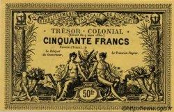 CINQUANTE FRANCS - Jaune TAHITI  1880 P. -s NEUF