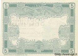 5 Francs avec décrets DJIBOUTI  1905 P. -s NEUF
