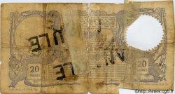 20 Francs avec décrets DJIBOUTI  1909 P.02 AB
