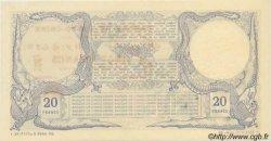 20 Francs sans décrets DJIBOUTI  1921 P.04Bs pr.NEUF