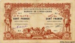 100 Francs DJIBOUTI  1915 P.03 TB+an