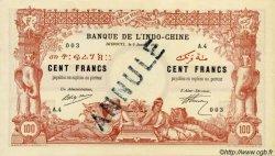 100 Francs sans décrets DJIBOUTI  1920 P.05s NEUF