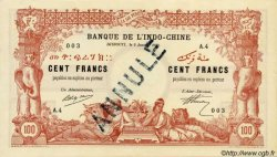 100 Francs DJIBOUTI  1920 P.05s NEUF