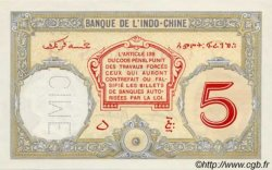5 Francs Walhain DJIBOUTI  1936 P.06bs NEUF