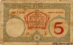 5 Francs Walhain DJIBOUTI  1936 P.06b B