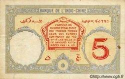 5 Francs Walhain DJIBOUTI  1936 P.06b TB