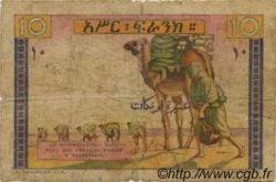 10 Francs type 1946 DJIBOUTI  1946 P.19 B