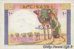 10 Francs type 1946 DJIBOUTI  1946 P.19 TTB+