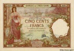 500 Francs type 1927 DJIBOUTI  1927 P.09a pr.SPL