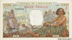 1000 Francs DJIBOUTI  1938 P.10s pr.NEUF