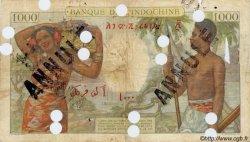 1000 Francs surchargé BIC DJIBOUTI  1938 P.13Es B