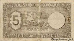 5 Francs Palestine DJIBOUTI  1945 P.14 B