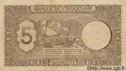 5 Francs Palestine DJIBOUTI  1945 P.14 TTB