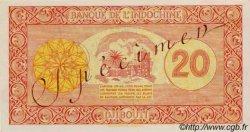 20 Francs Palestine DJIBOUTI  1945 P.15s pr.NEUF
