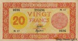 20 Francs Palestine DJIBOUTI  1945 P.15 TTB