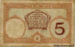 5 Francs Walhain NOUVELLES HÉBRIDES  1941 P.04b B+