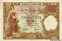 500 Francs type 1927 NOUVELLES HÉBRIDES  1941 P.12A pr.TTB