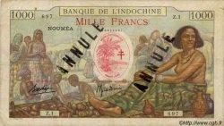 1000 Francs NOUVELLES HÉBRIDES  1941 P.14A TB