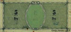 5 Francs NOUVELLES HÉBRIDES  1943 P.01 SPL
