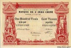 100 Ticaux THAÏLANDE  1900 PS.104 SPL