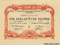 1 Dollar / 1 Piastre INDOCHINE FRANÇAISE  1902 PS.440 NEUF
