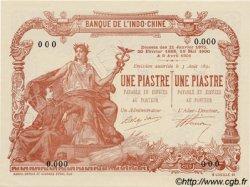 1 Piastre / 1 Piastre INDOCHINE FRANÇAISE  1909 P.034bs NEUF