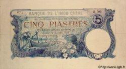 5 Piastres INDOCHINE FRANÇAISE  1904 P.000 TTB