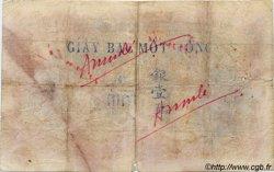 1 Piastre INDOCHINE FRANÇAISE  1923 P.048a B