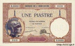 1 Piastre INDOCHINE FRANÇAISE  1923 P.048as pr.NEUF