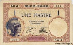 1 Piastre INDOCHINE FRANÇAISE  1927 P.048b TTB+