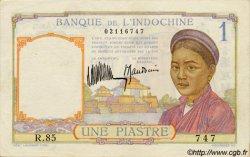 1 Piastre INDOCHINE FRANÇAISE  1932 P.052 SUP