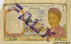 1 Piastre INDOCHINE FRANÇAISE  1932 P.052 TTB