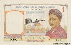 1 Piastre INDOCHINE FRANÇAISE  1933 P.054a SUP