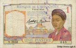 1 Piastre INDOCHINE FRANÇAISE  1936 P.054b