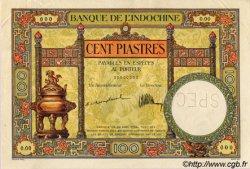 100 Piastres INDOCHINE FRANÇAISE  1925 P.051as SPL