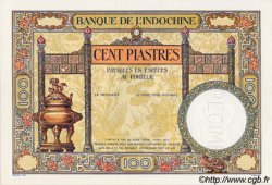 100 Piastres INDOCHINE FRANÇAISE  1932 P.051bs NEUF