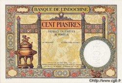 100 Piastres INDOCHINE FRANÇAISE  1932 P.051bs NEUF