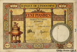 100 Piastres INDOCHINE FRANÇAISE  1932 P.051c TB