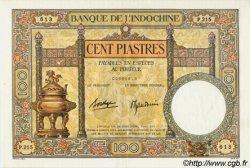 100 Piastres INDOCHINE FRANÇAISE  1936 P.051d SUP+