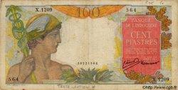 100 Piastres INDOCHINE FRANÇAISE  1947 P.082a TB+