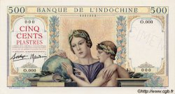 500 Piastres INDOCHINE FRANÇAISE  1939 P.057 NEUF
