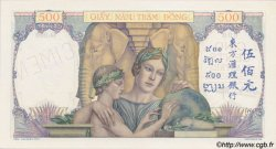 500 Piastres INDOCHINE FRANÇAISE  1939 P.057s NEUF